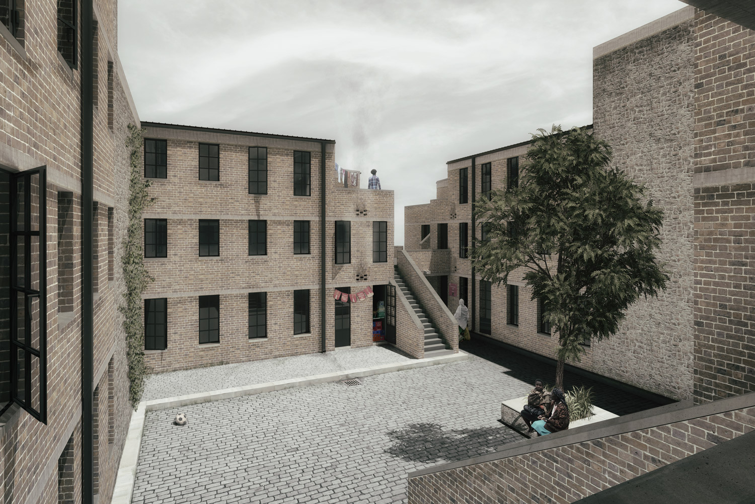 Courtyard Visualization (Disler/Rolvering)