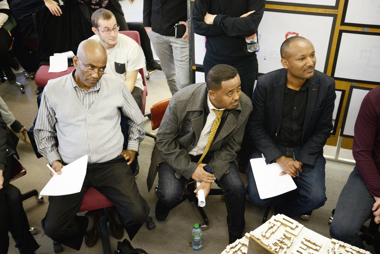 Ethiopian Guest Critics Yonas Ayalew, Mathewos Asfaw and Bisrat Kifle