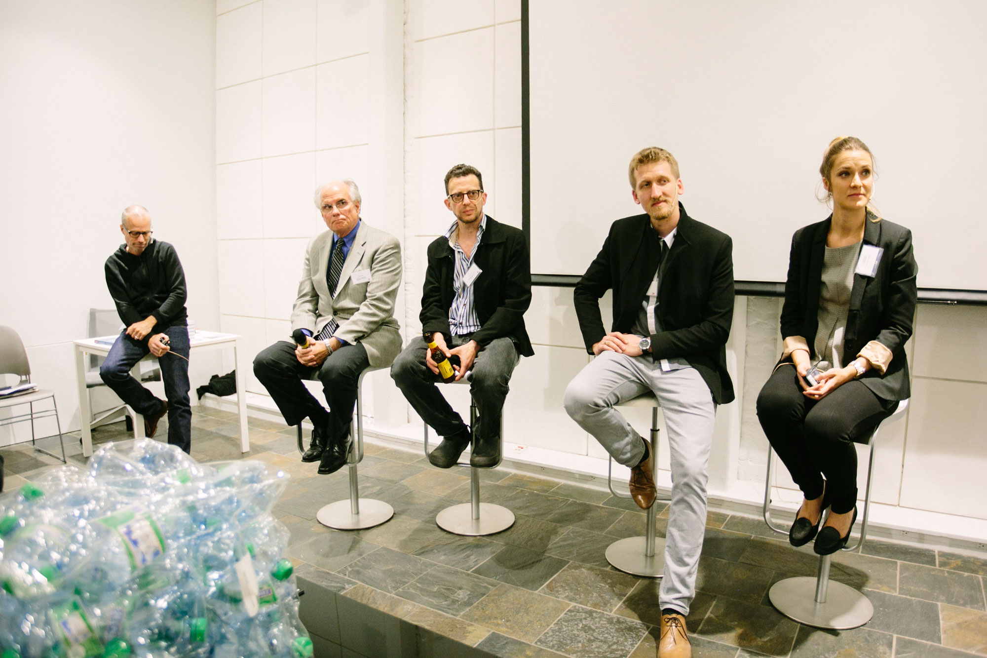 Panel discussion at swissnex SF